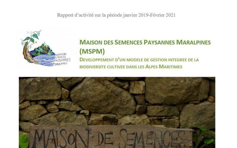 Bilan des activités de la MSPM 2019-2020